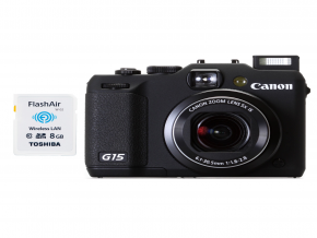 Canon PowerShot G15 + free wifi memory