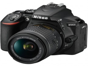 Nikon D5600 Kit 18-55 VR + 16GB C10 + BAG