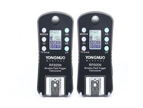 YONGNUO Wireless Flash Trigger & Shutter Release RF-605N RF605N for Nikon