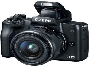 + Canon EOS M50 Mirrorless Digital Camera with 15-45mm16GB+BAG