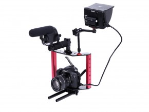 Sevenoak SK-C02 Highly Compact Cage Steadycam Stabilizer for Canon Nikon Sony Gopro Cameras Camcorders