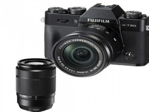 FUJIFILM X-T20 XC16-50MM XC50-230MM BLACK