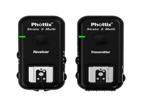 PHOTTIX STRATO II MULTI 5-IN-1 TRIGGER SET FOR NIKON (ALL CABLES)