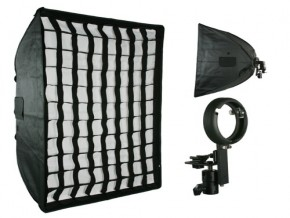 phottix soft box with grid 60*90