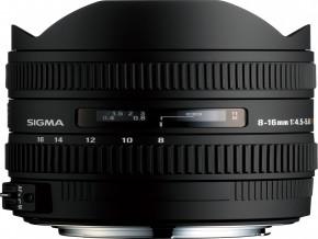 SIGMA LENS 8-16mm F4.5-5.6 DC HSM