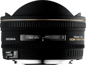 10mm F2.8 EX DC HSM Fisheyepi