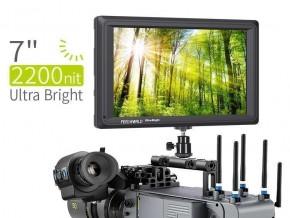 FEELWORLD FW279S 7 Inch 2200nit Daylight Viewable Camera Field Monitor 3G-SDI 4K HDMI Input Output 1920X1200 IPS Panel
