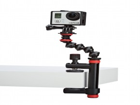 Joby Action Clamp and GorillaPod Arm (BlackRed)