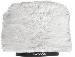 BOYA BY-P180 Furry Outdoor Interview Windshield Muff for Shotgun Capacitor Microphones (Inside Depth 7.2'') (BY-P180)