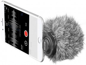 BOYA BY-DM200 – Designed for Recording Audio to iOS Devices with a Lightning Connector for interviews