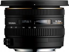 SIGMA LENS 10-20mm F3.5 EX DC HSM