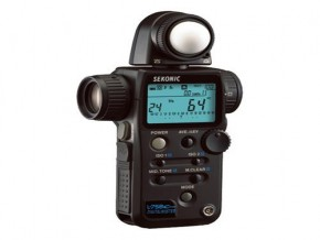 SEKONIC L-758C LIGHT METER