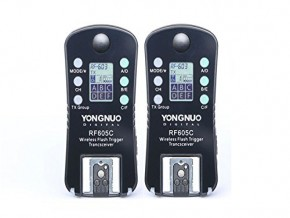 YONGNUO Wireless Flash Trigger & Shutter Release RF-605C RF605C for Canon