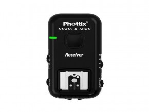 Phottix Multi 5-In-1 Nikon Receiver Stratos ll (Black)