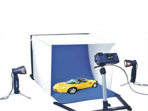 Table Top Photo Studio In-A-Bag, with 16