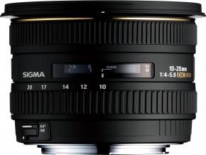 SIGMA LENS 10-20mm F4-5.6 EX DC (HSM)