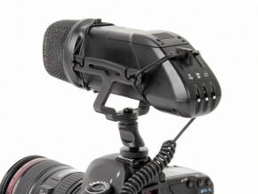 Microfono Professionale BOYA BY-V03 direzionale/stereo a condensatore