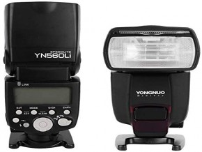 YONGNUO YN560Li-Kit GN58 2.4G Flash Speedlite with Lithium Battery Compatible for Canon Nikon Pentax Olympus DSLR Cameras with Hot Shoe Port Yongnuo Video Light