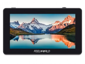 FEELWORLD F6 PLUS 5.5 Inch 3D LUT Touch Screen DSLR Camera Field Monitor IPS FHD1920x1080 Support 4K HDMI