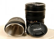 Nikon AF-S 24-70mm f/2.8 1:1 Thermos Travel Mug Camera Lens Cup
